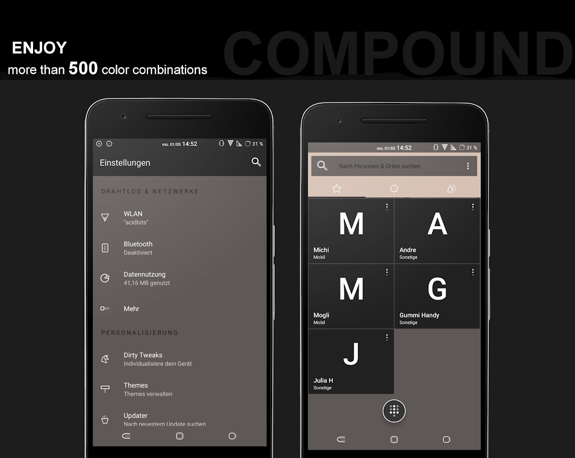 Compound for Substratum (Android Oreo/Nougat) Screenshot 8