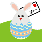Happy Easter Greeting Cards Icon