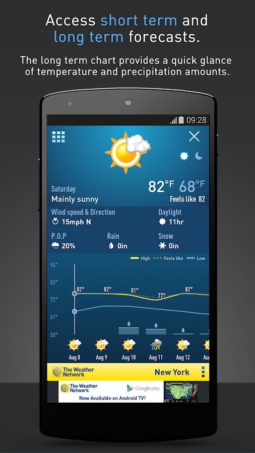 The Weather Network Screenshot 2