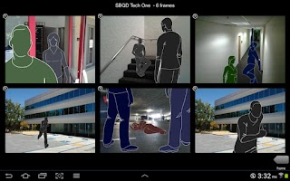 Screenshot of StoryBoard Quick Direct