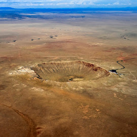 Meteor Crater Arizona by Greg McKelvey - Landscapes Deserts (  )