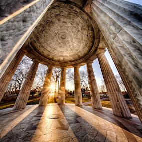 WWI Memorial - DC by Kevin Miller - Buildings & Architecture Public & Historical ( dc, washington, memorial, pano, wwi, panoramic )