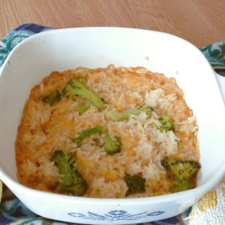 Cheesy Rice and Broccoli