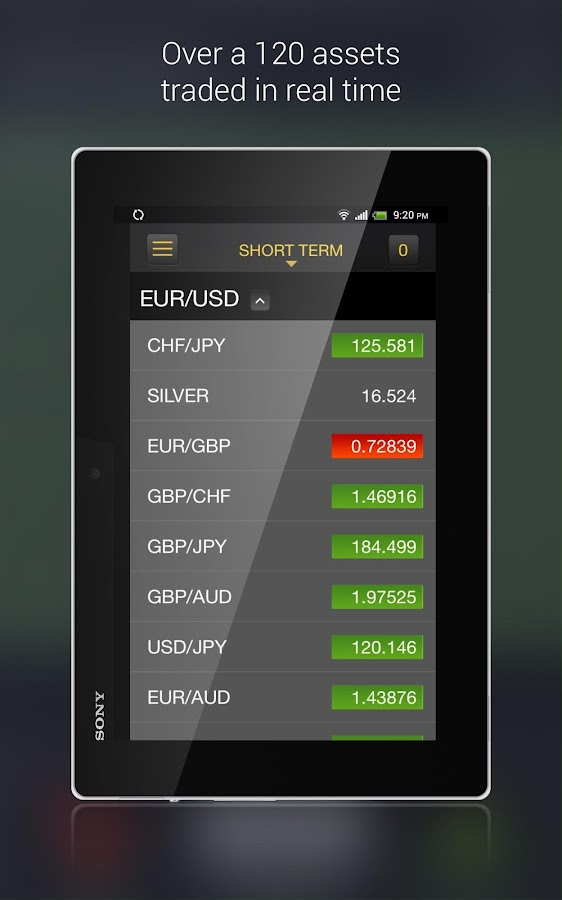 Binary Options Trading Screenshot 8