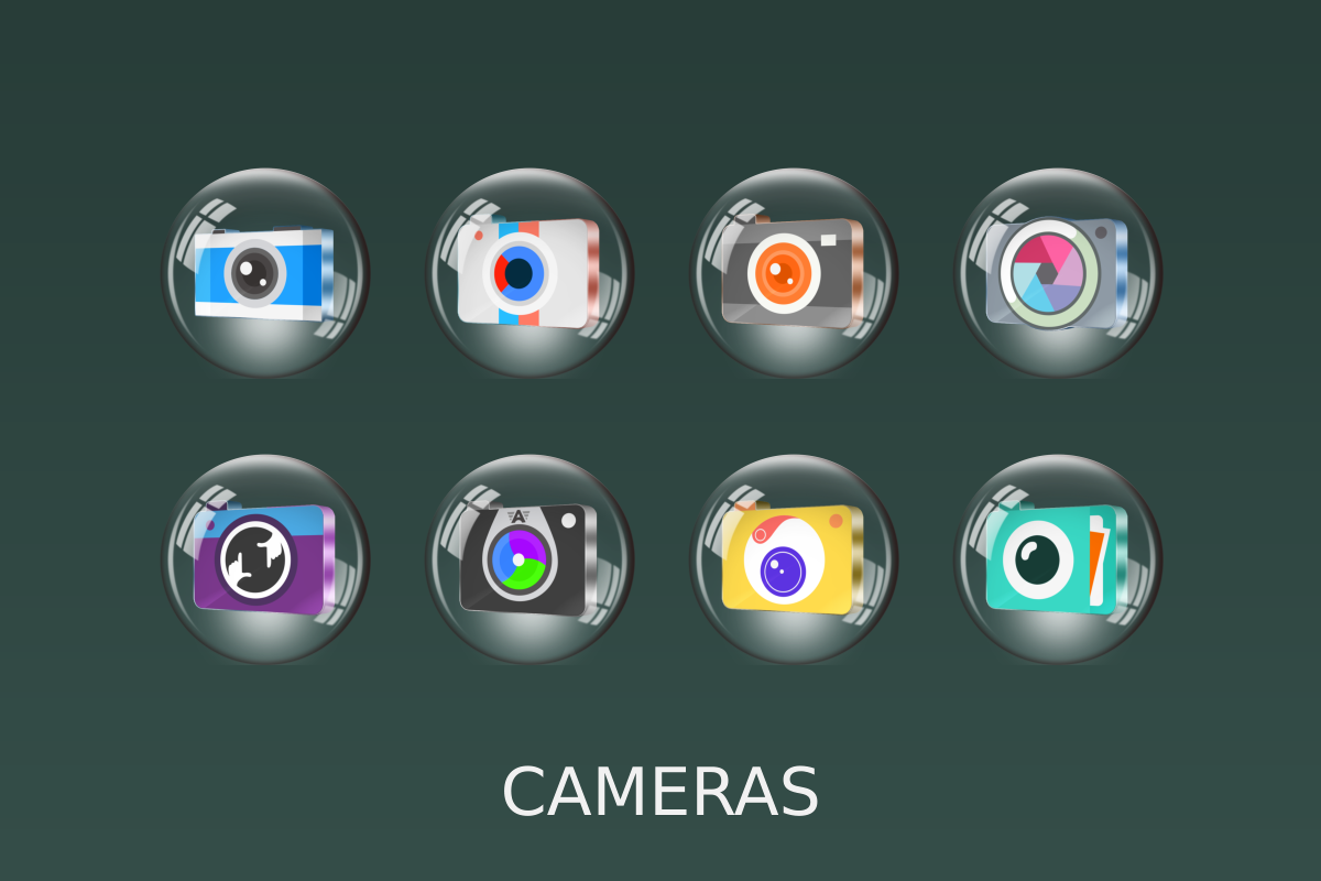 Glass 3D Icon Pack Screenshot 9