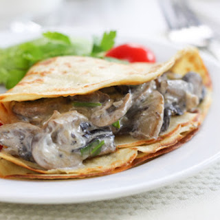 Vegetable Stuffed Crepes Recipes