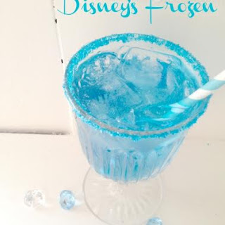 Frozen Theme Party Ideas- Icy Party Punch