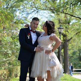 by Sasa Rajic Wedding Photography - Wedding Bride & Groom ( wedding photography, wedding day, wedding, wedding dress, wedding photographer, bride and groom )