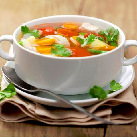 Vegetable Soup For Losing Weight – 28.92 Calories