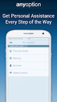 Screenshot of Binary Options - anyoption