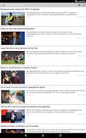 Screenshot of Kranten en tijdschriften NL