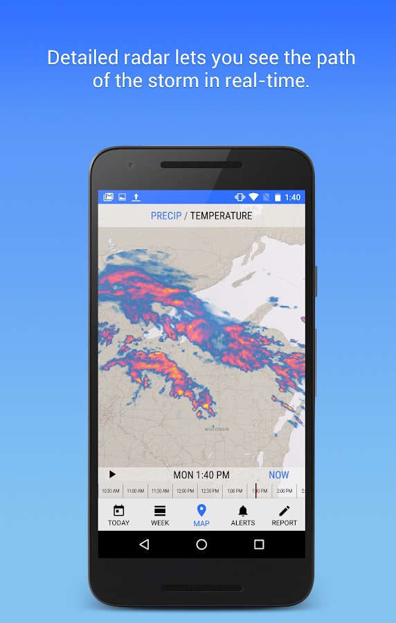 Dark Sky - Hyperlocal Weather Screenshot 2