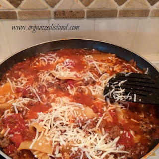 Simple Skillet Lasagna