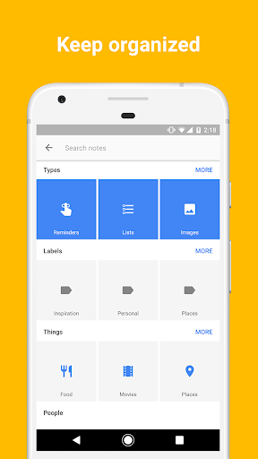 Google Keep screenshot 4