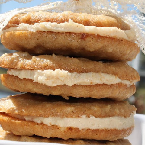 Oatmeal Peanut Butter Sandwich Cremes (Knockoff Cookies)