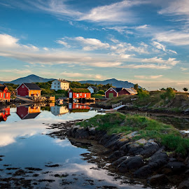 Late evening by Morten Johnsrud - Landscapes Sunsets & Sunrises ( atlanticroad, sony, landscape, norway, a200 )