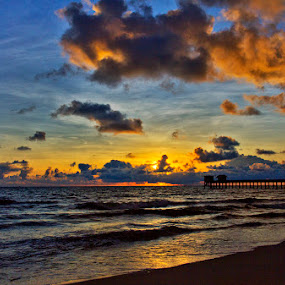 Sunrise by Charliemagne Unggay - Landscapes Weather