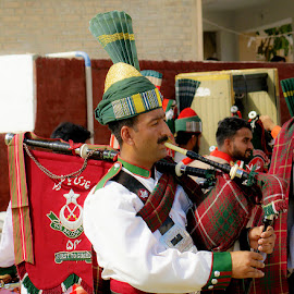 piper  by Mohsin Raza - People Musicians & Entertainers (  )