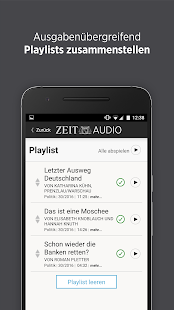 ZEIT AUDIO - screenshot