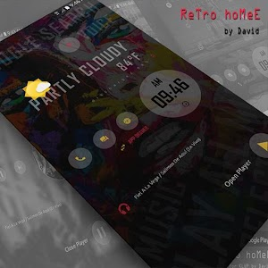 Cover art ReTro hoMeE for KLWP