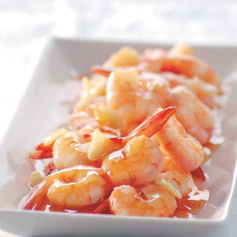 Shrimps in Sweet Thai Chili Sauce