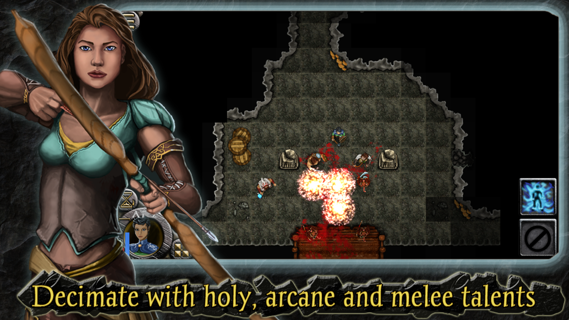 Heroes of Steel RPG Elite Screenshot 1