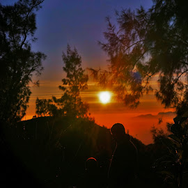 me and you by Novalina Soewandhie - People Family ( potrait, mountain, kids, sunrise, photo, photography )