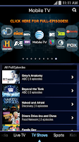 Screenshot of Mobile TV