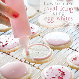 Icing Sugar Egg White Recipes
