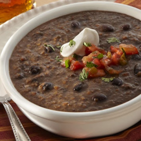 Black Bean Soup With Chicken