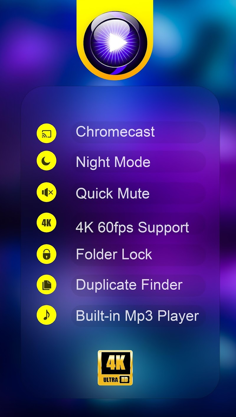 Video Player All Format Screenshot 0