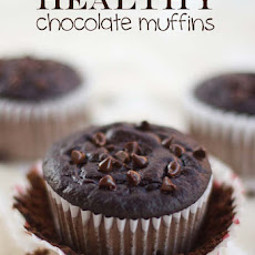 Healthy Chocolate Muffins (95 Calories)