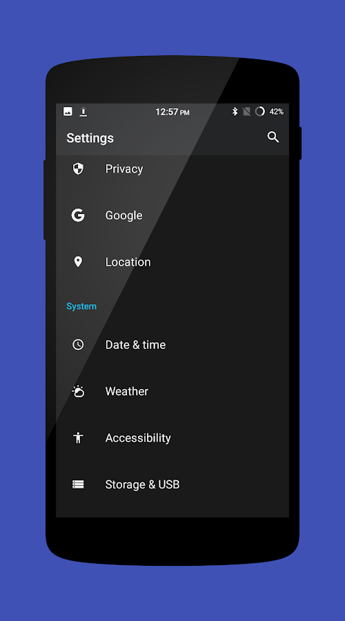 Cm13 Material Nougat 7 Screenshot 3