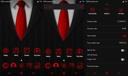 CM 13 Gentleman Theme- screenshot thumbnail