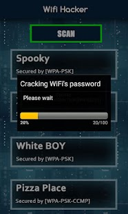 Wifi Password Hacker Prank - screenshot