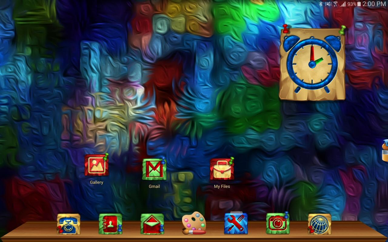 TSF/NEXT/ADW/NOVA..THEME PAINT Screenshot 5