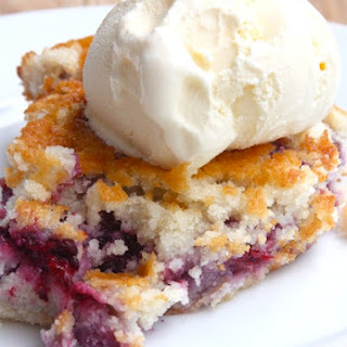 Summery Blackberry Cobbler