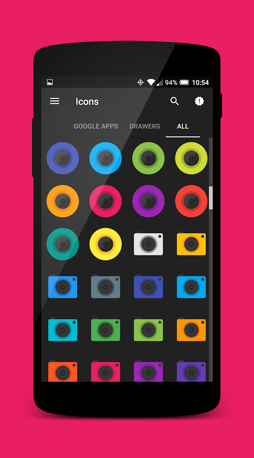 Ultimo Icon Theme Screenshot 4