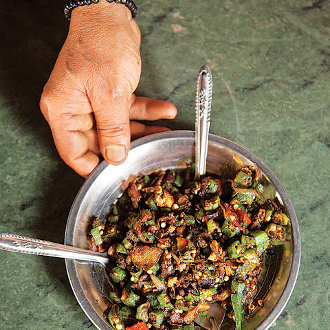 Bhindi Masala (North Indian Okra Stir-Fry)