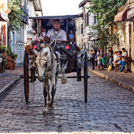 Ride the Kalesa if you ever get to Vigan...It is the soul of the Vigan experience by Raymond Catedral - Transportation Other