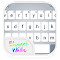 Emoji Keyboard - OS9 White 1.1 Apk