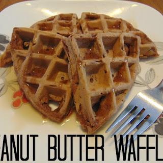 Healthy Peanut Butter Waffles Recipes