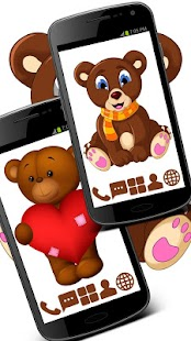 Toy Bears - GO Launcher Theme - screenshot