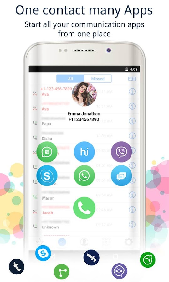 Caller Screen Dialer Pro Screenshot 2