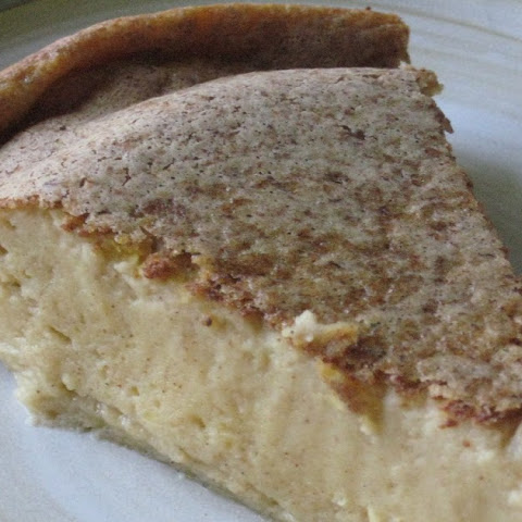 Cardamom Pumpkin Custard Pie