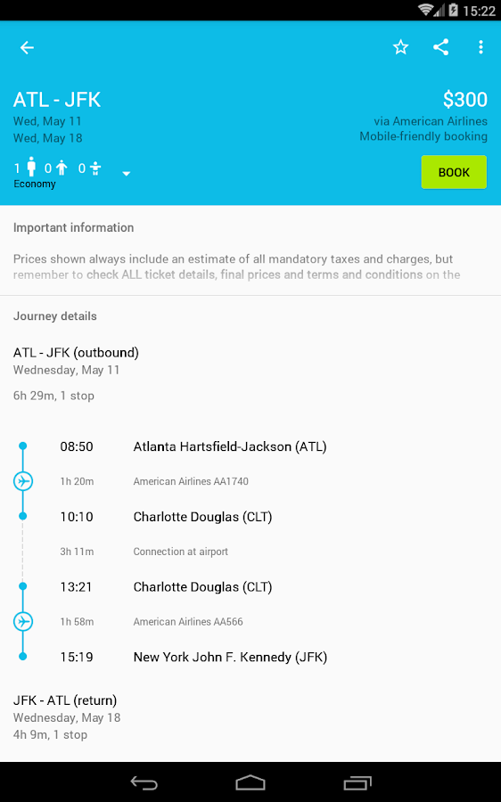 Skyscanner Screenshot 18