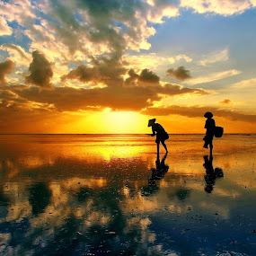 by Alit  Apriyana - Landscapes Sunsets & Sunrises