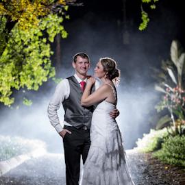 NIght by Lood Goosen (LWG Photo) - Wedding Bride & Groom ( bride, groom, wedding photography, wedding photographer, bride and groom, weddings, wedding day, wedding photographers, wedding )