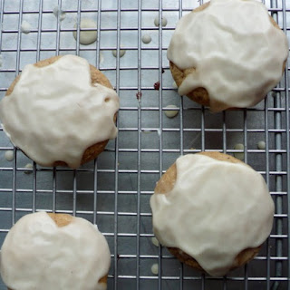Cardamom Black Pepper Cookies with Cognac Glaze