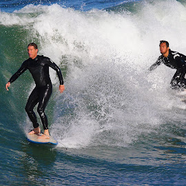 Duo en balade by Gérard CHATENET - Sports & Fitness Surfing